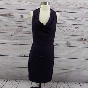 3/$30 Ann Taylor Sleeveless Cowl Neck Dress M